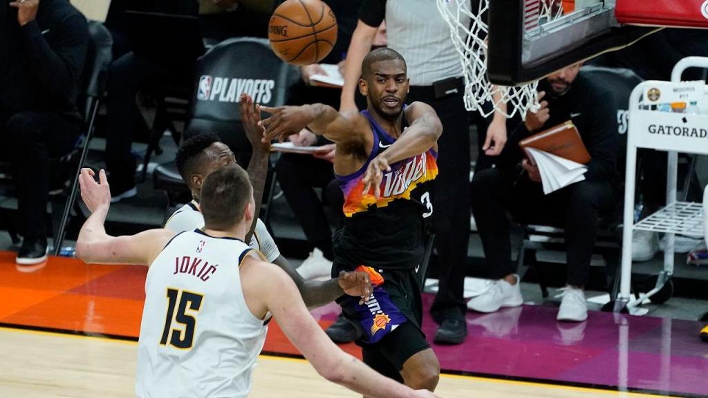 Phoenix Suns-Denver Nuggets (AP Photo/Matt York)