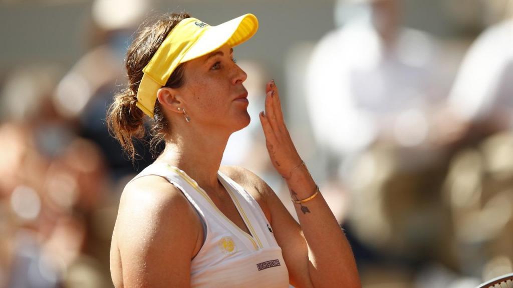 Anastasia Pavlyuchenkova (Yoan Valat/EPA)