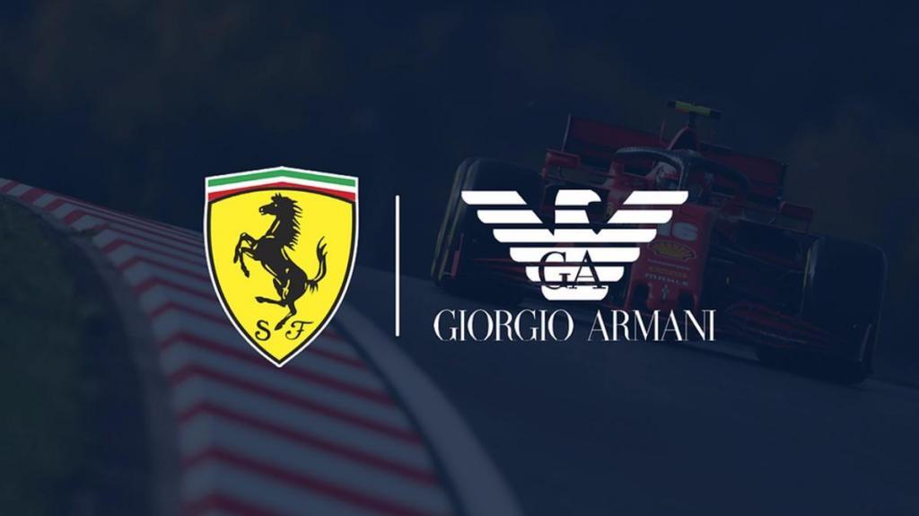 Ferrari e Armani não se vão fundir