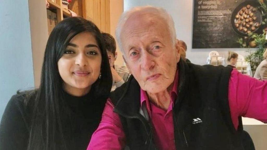 Nadia Begum e Clifford Weedon