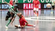 Futsal (final): Zicky Té e Nilson no Sporting-Benfica, jogo 3 [Sporting CP]