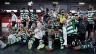 Sporting festeja título nacional de futsal (Manuel de Almeida/LUSA)