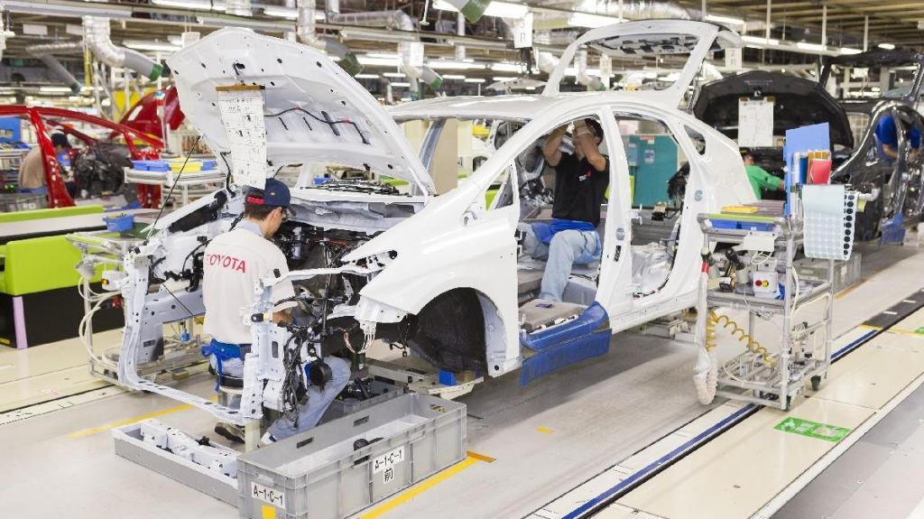 Toyota com fábricas neutras de carbono em 2035