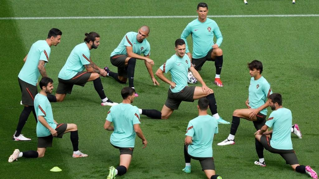 Treino Seleção Nacional