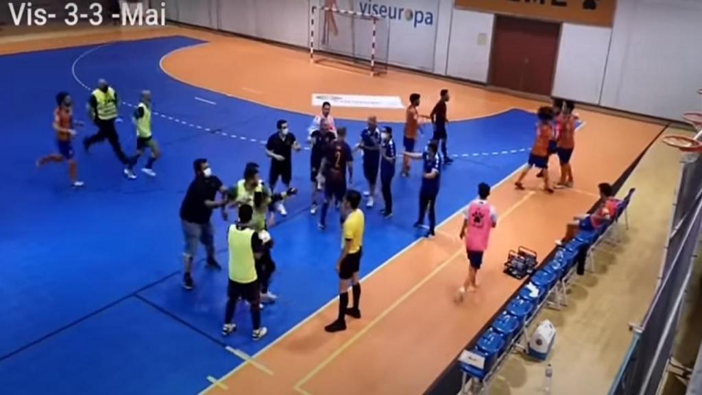 Viseu B-Maia Futsal (Youtube)