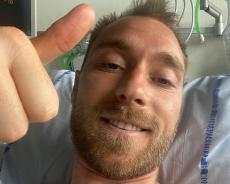 Dinamarca: Eriksen foi operado, já teve alta e esteve com os colegas