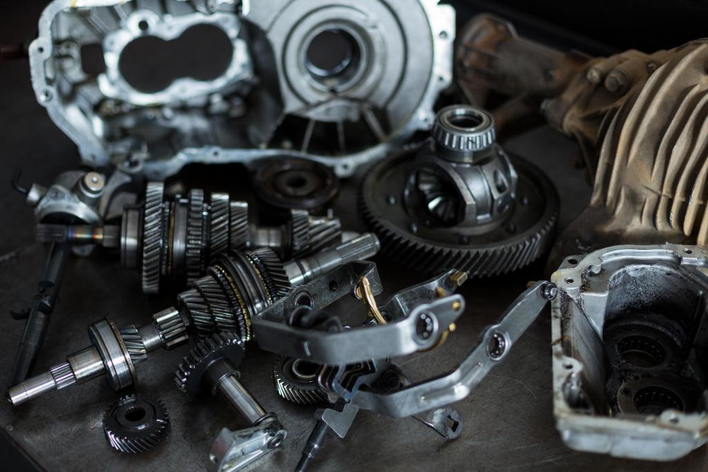 Exportação peças automóveis