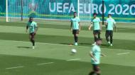 Seleção: Nuno Mendes não treinou antes da partida para a Alemanha