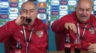 Cherchesov aderiu à «onda Coca-cola»