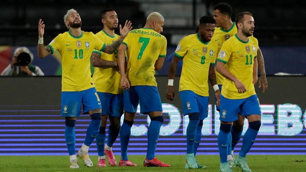 Brasil-Peru (AP Photo/Silvia Izquierdo)