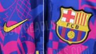 A nova camisola do Barcelona para a Liga dos Campeões