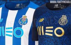 FOTOS: novas imagens das prováveis camisolas do FC Porto para 2021/22