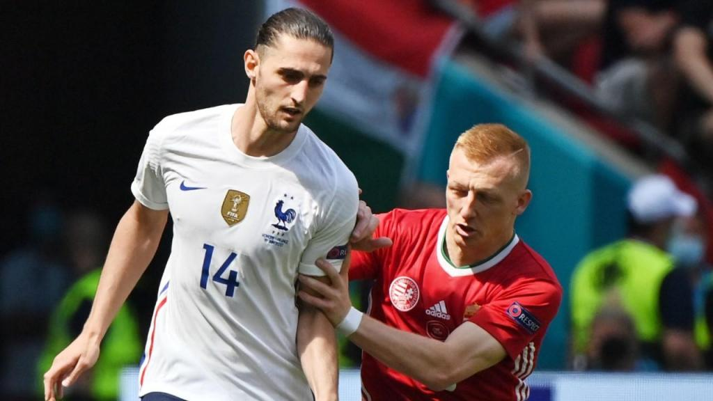 Euro 2020: Kleinheisler e Rabiot no Hungria-França (AP)