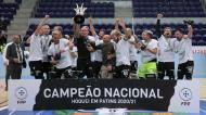 Sporting festeja título nacional em hóquei em patins (Manuel Fernando Araújo/LUSA)