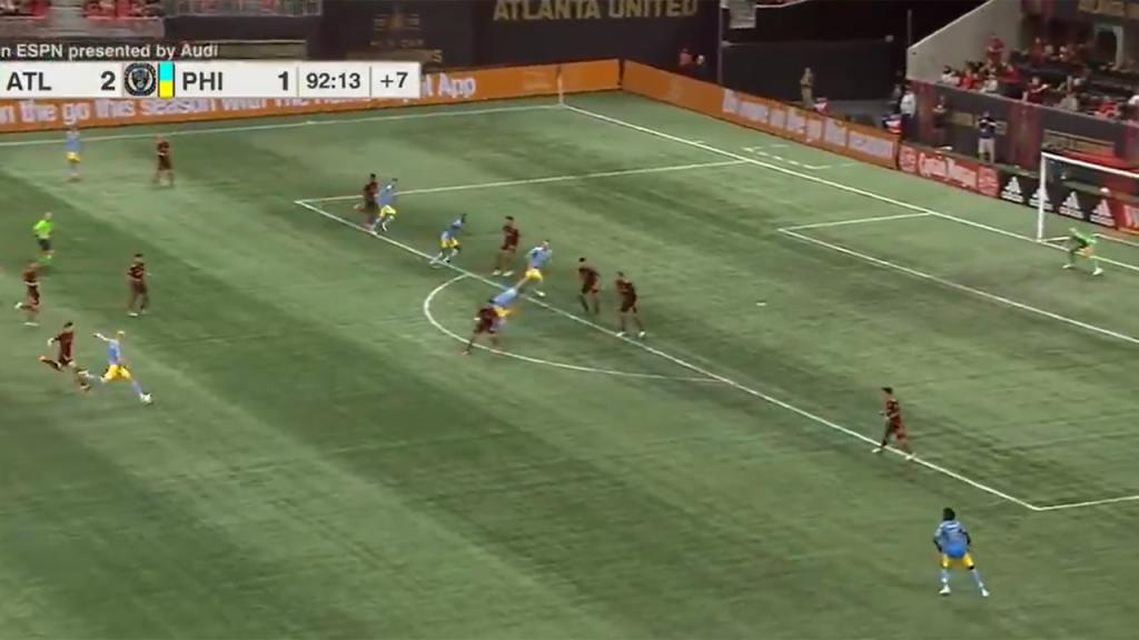 O golaço de Glesnes na MLS (Twitter - Philadelphia Union)