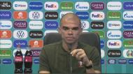 Pepe dá a receita para o duelo frente a Mbappé, Griezmann e Benzema