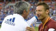 Mourinho e Totti (Instagram Mourinho)