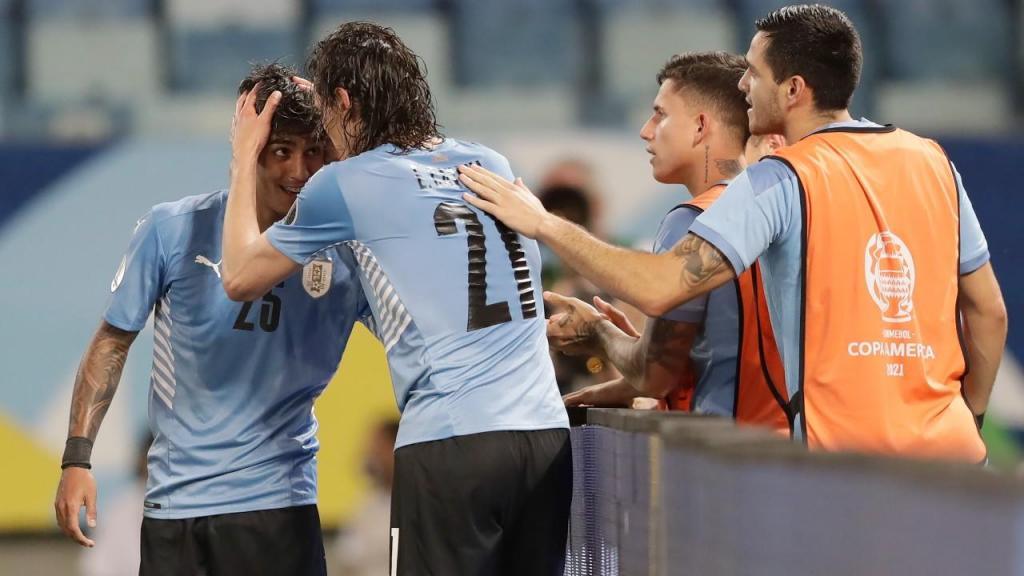 Uruguai bateu Bolívia na Copa América (AP Photo/Andre Penner)