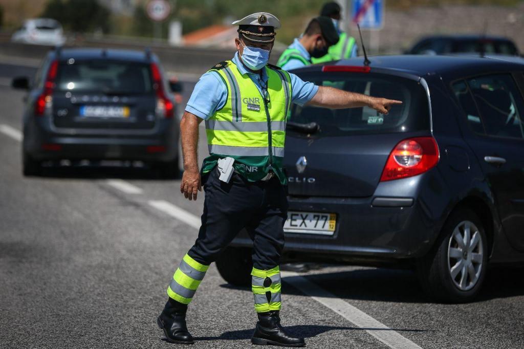 Operação da GNR no âmbito das novas medidas para a Área Metropolitana de Lisboa