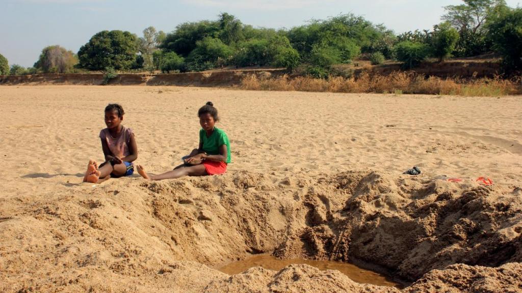 Rio sem água em Madagáscar