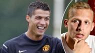 De Laet recordou história com Cristiano Ronaldo dos tempos do Manchester United
