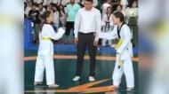 Duas irmãs gémeas chegaram a uma final de Taekwondo