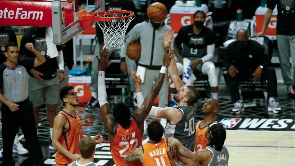 Clippers Vs Suns (EPA)