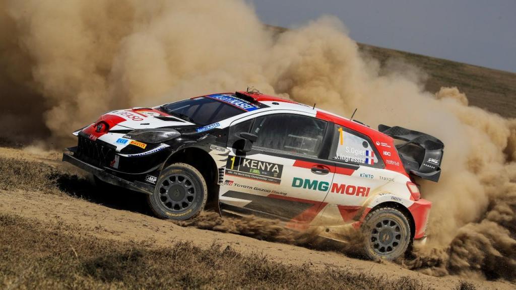 Sébastien Ogier venceu Rali Safari, no Quénia (EPA)