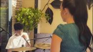 VÍDEO: Georgina e Cristianinho mostraram dotes vocais em Sevilha