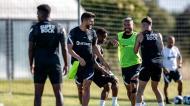 Paulinho no primeiro treino da época do Sporting (Sporting CP)