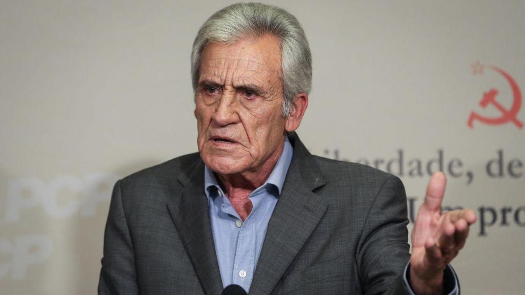 Jerónimo de Sousa, apresenta principais conclusões da reunião do Comité Central