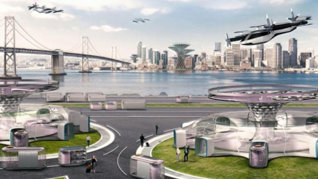 Carros voadores Hyundai