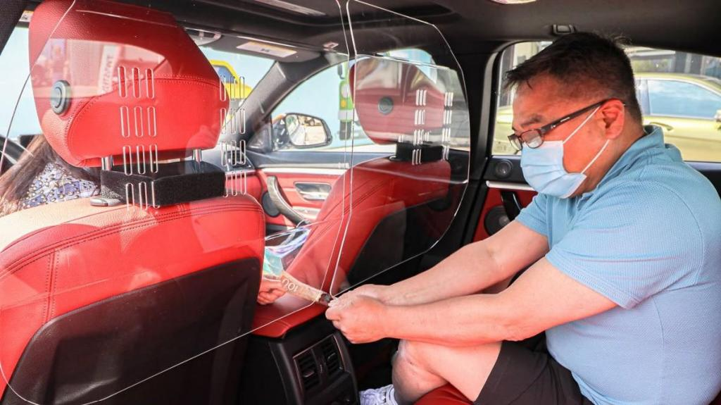 Separador Taxi TVDE Uber