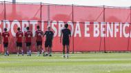 Plantel do Benfica prossegue pré-temporada (fotos: SLB)
