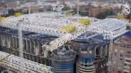 Avanço nas obras do Santiago Bernabéu (Real Madrid CF)