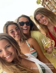 Internacionais portugueses de férias em Mykonos