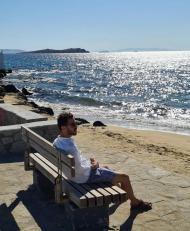 As férias de Rúben Dias, Bernardo Silva e Gonçalo Guedes em Mykonos