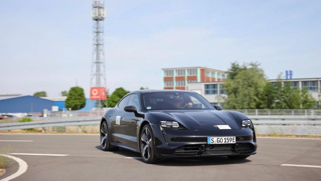Here Techologies, Porsche e Vodafone em projeto de investigação