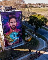Mural Messi
