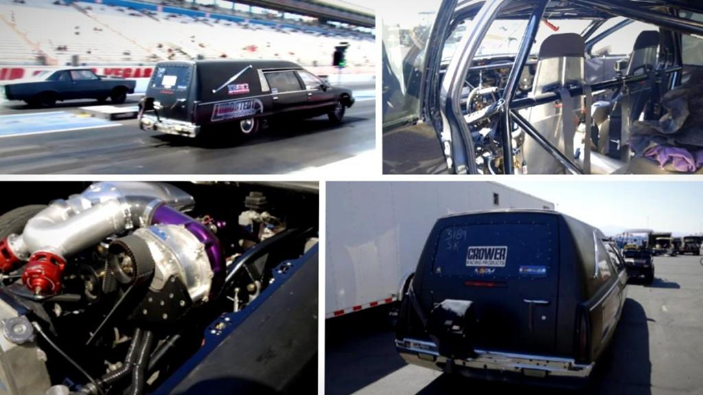 Buick de 1993 transformada em Dragster