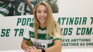 Chandra Davidson reforça equipa feminina do Sporting (Sporting CP)