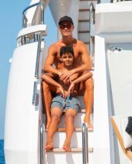 As férias de Cristiano Ronaldo