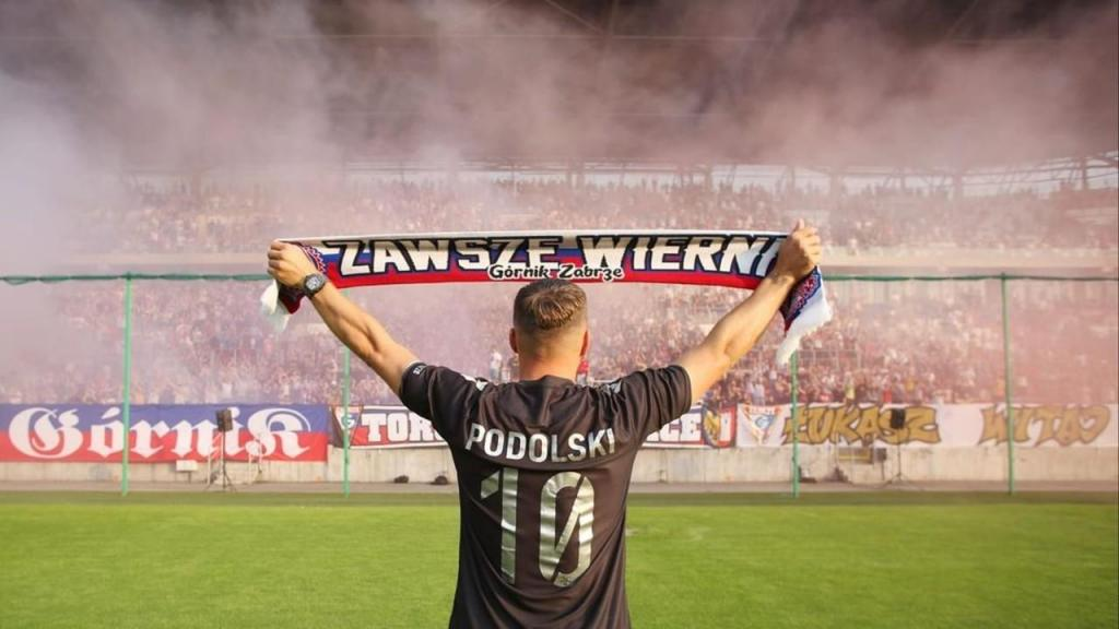 Lukas Podolski no Górnik Zabrze