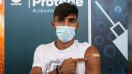 Plantel do Sporting já foi vacinado (Sporting)