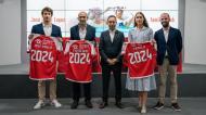 Sp. Braga renovou com os nadadores Tamila Holub e José Paulo Lopes (foto Sp. Braga)