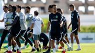Internacionais portugueses regressam aos treinos no Sporting