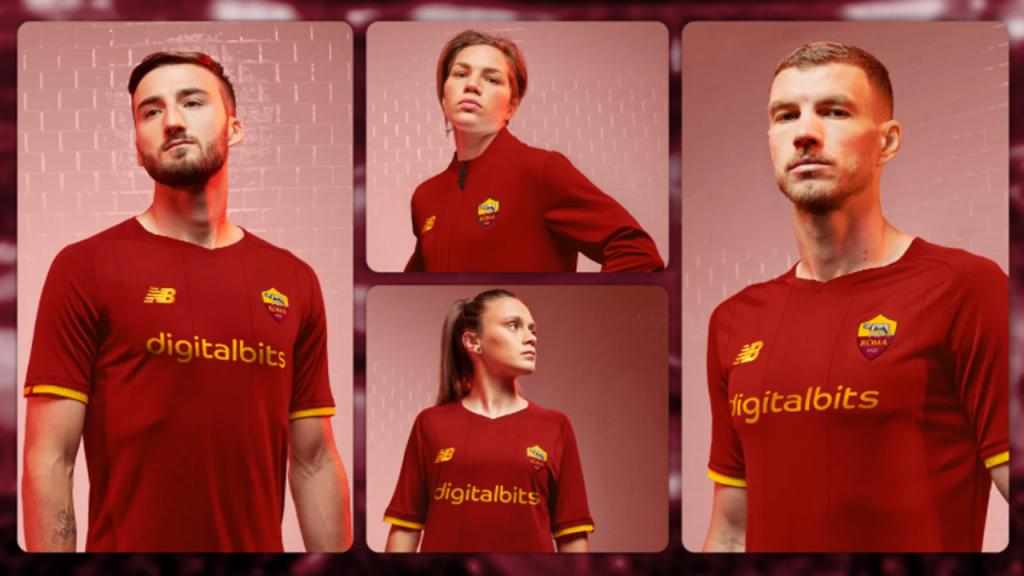 A camisola principal da Roma para 2021/2022 (AS Roma)