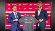 Rui Patrício vai defender a baliza da equipa de Mourinho (fotos AS Roma)
