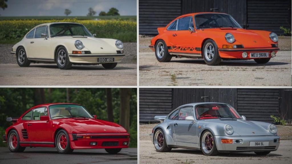 Porsche 911 silverstone