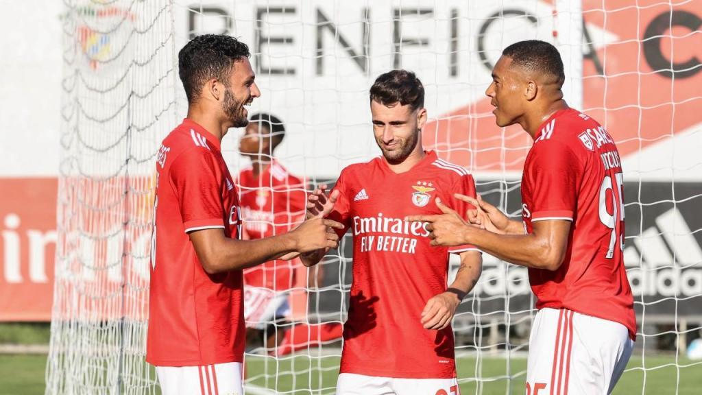 Benfica-Casa Pia (fotos: SLB)
